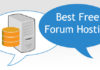 Best Free Forum Hosting