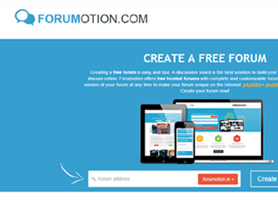 Forumotion.com Free Forum Host