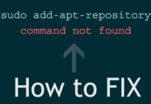 add-apt-repository Command not Found