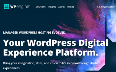 wpengine wordpress host