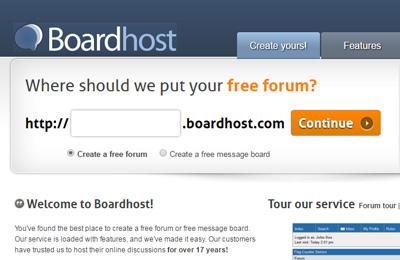 Boardhost.com Free Hosting Forum