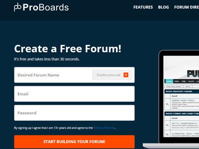 ProBoards.com Free Hosting Forum