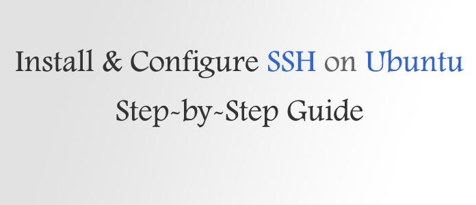 How to Install SSH Server on Ubuntu 18 04 LTS | Best-Web