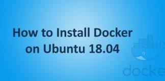 Install Docker Ubuntu 18.04
