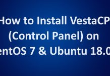 Install VestaCP on Ubuntu 18.04 & CentOS 7