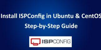 ISPConfig Install Guide